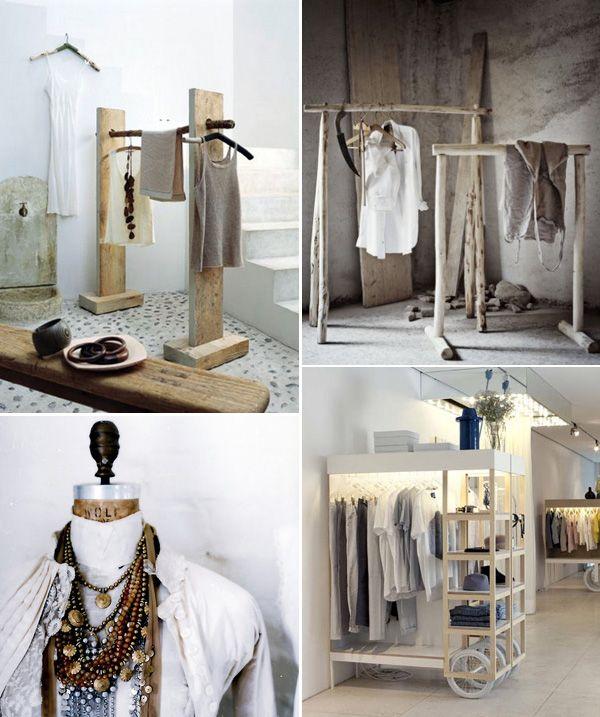 Festa, Sabor & Decoração: Guardando as roupas sem guarda roupa