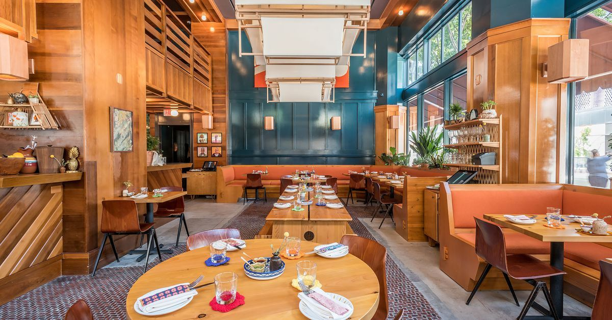The Most Beautiful La Restaurants Of 2017 Restaurant Design Inspiration Mexican Restaurant Design Restaurant Design