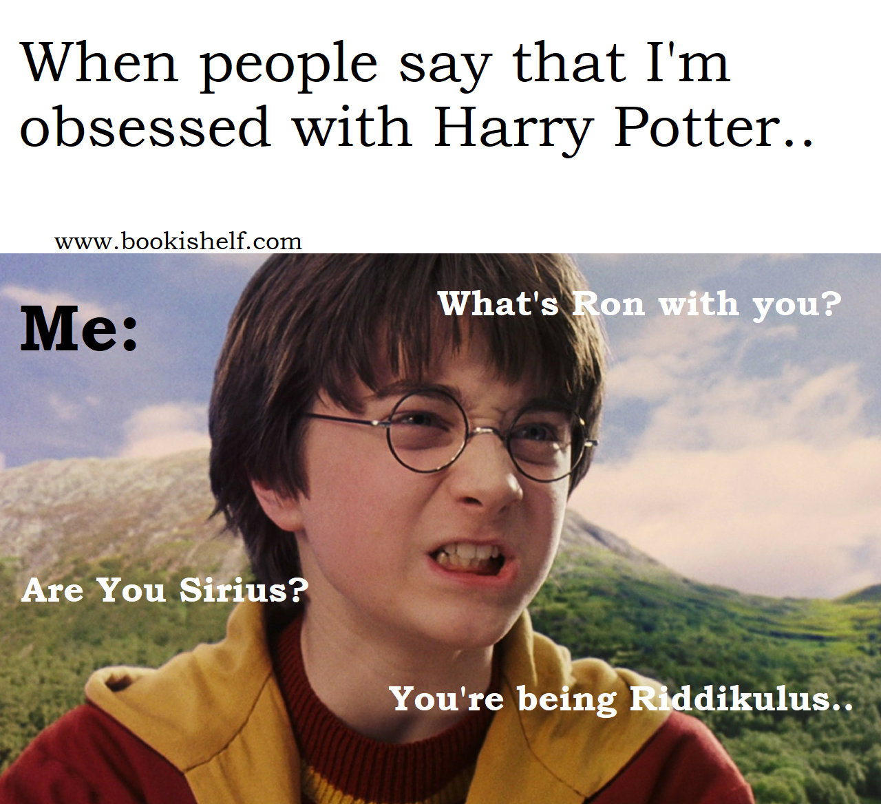 How Much You Like The Harry Potter Series I M Asking About Books Not Movies Read Books R Harry Potter Interviews Harry James Potter Harry Potter Jk Rowling