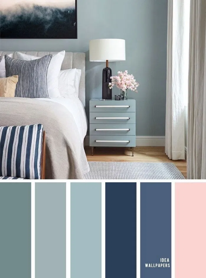 A Comprehensive Overview On Home Decoration In 2020 Master Bedroom Color Schemes Master Bedroom Colors Bedroom Color Schemes