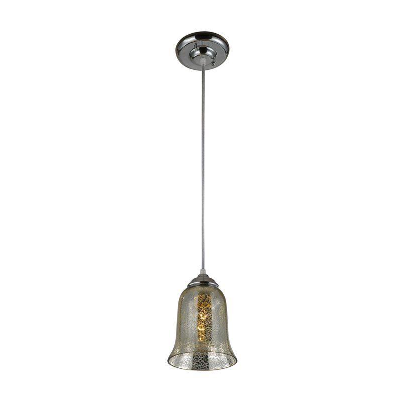 A Homestead Shoppe Silver Bell Mercury Glass Pendant Www Hayneedle Com Mercury Glass Silver Bells Glass Pendants