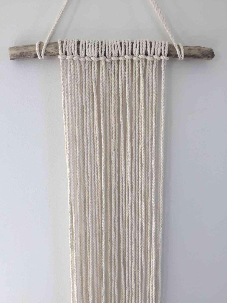 how to diy a macrame wall hanging with images macrame on macrame wall hanging id=37771