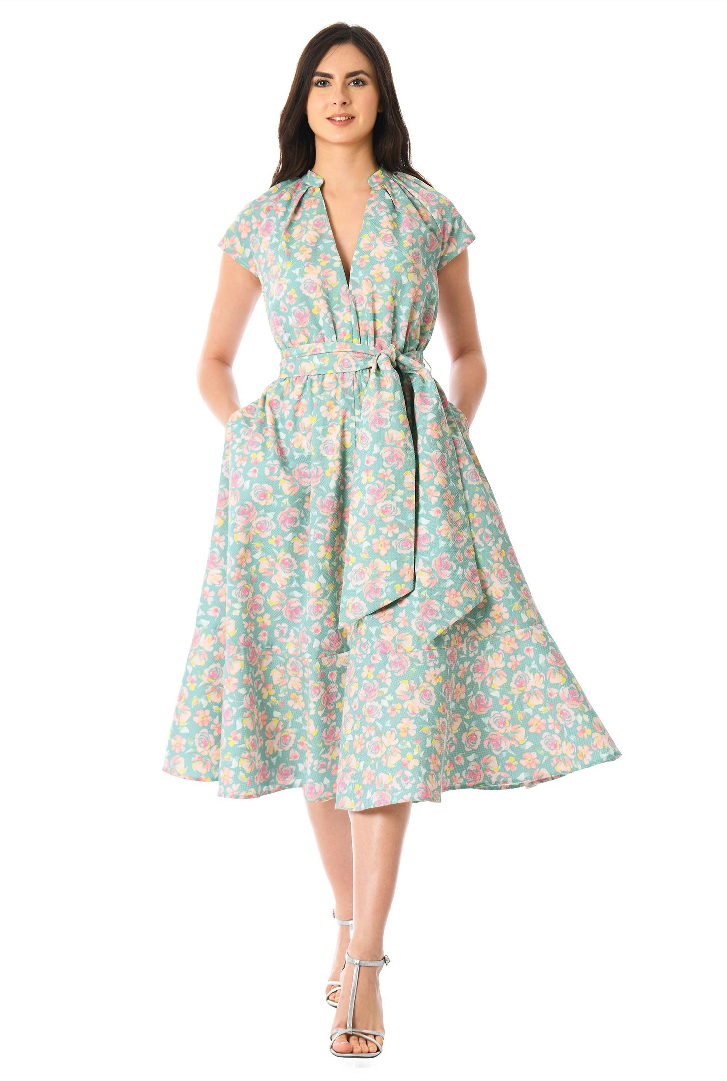 Wrap dresses at eshakti shop popular styles find wrap dresses