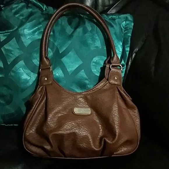 Rosetti New York Bag Medium Size Brown With Snap By