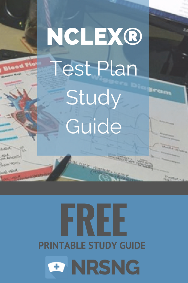 Free printable study guide nclex test plan study guide nursing free printable study guide nclex test plan study guide nursing school tips nrsng fandeluxe Image collections