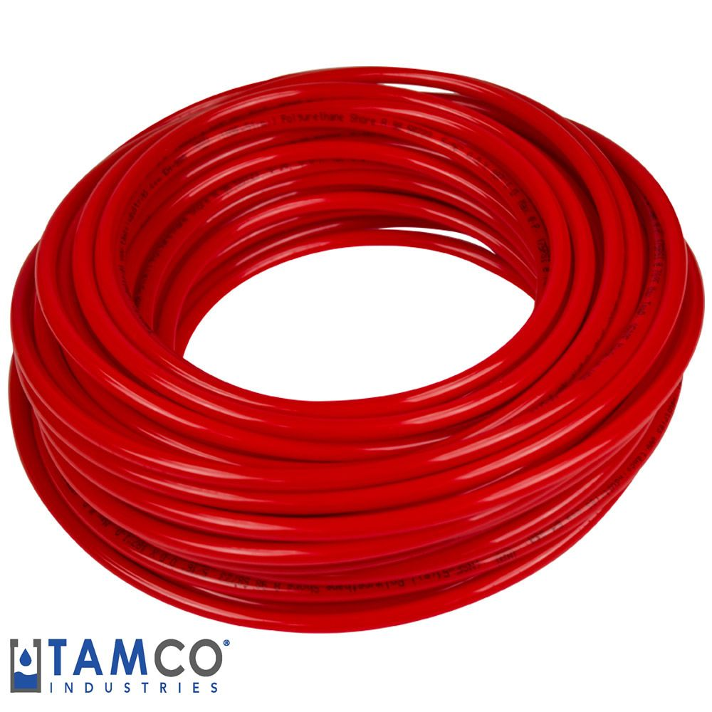 Red Tamco Eh 98a Polyurethane Tubing Use This For Co2 With John Guest Push Fittings Home Brewing Beer Serving Oils