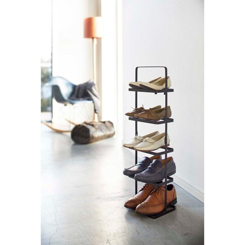 Tower Shoe Rack Narrow Shoe Rack Shoe Rack Tall Steel Shoes