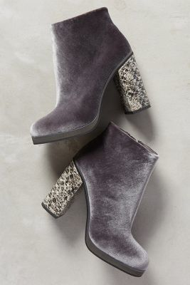 24a3fab22f80 Trending On ShopStyle - Lien.Do by Seychelles Lien. Do Magdalena Velvet  Booties - ShopStyle Boots