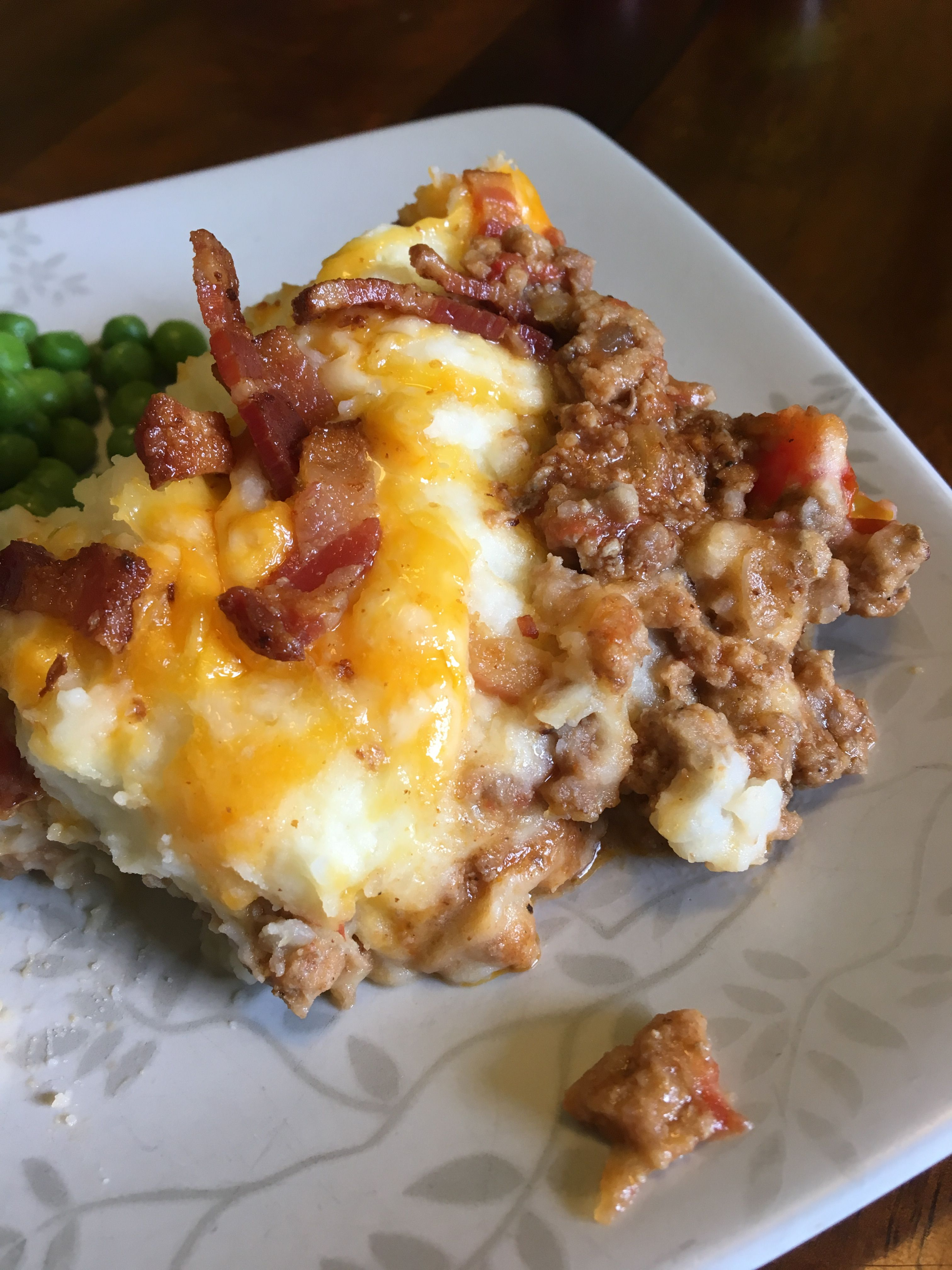 Bacon Cheeseburger Shepherd S Pie Ground Beef Recipes Beef Recipes Food