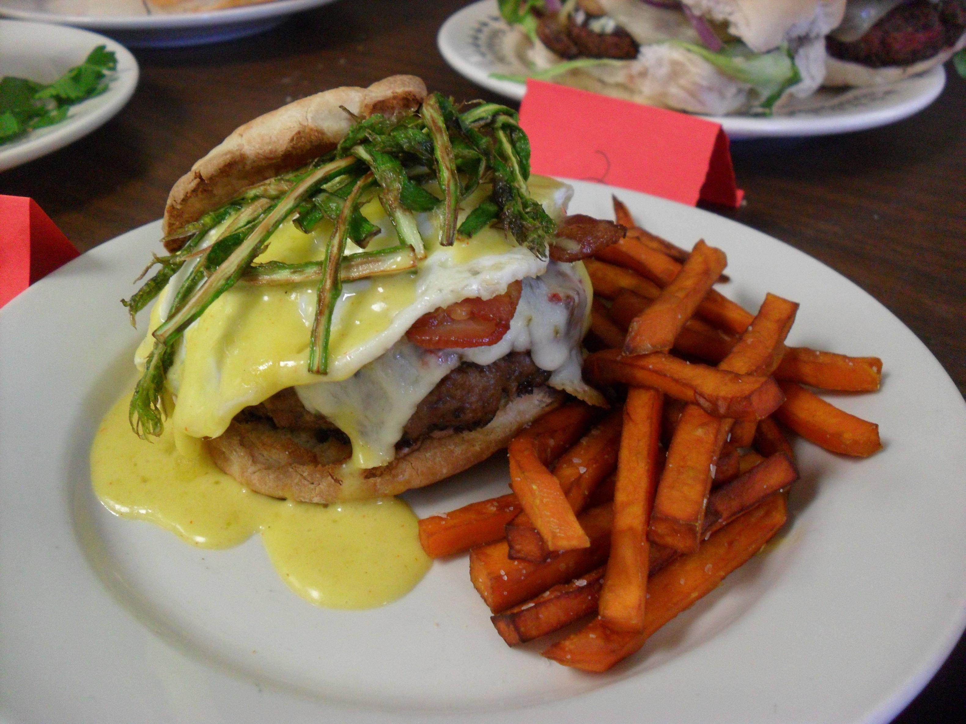 Recipe for goetta burger- yummm: http://www.scribd.com/doc/67795836/Goetta-Burger