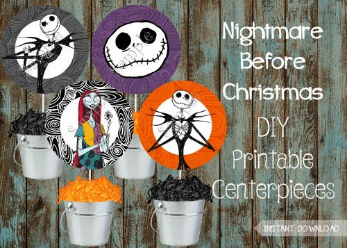 The Nightmare Before Christmas Party Supplies Package Jack And