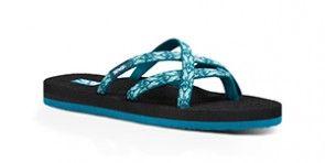 cec125538220 Teva Olowahu Hazel Blue Sandal (Women)
