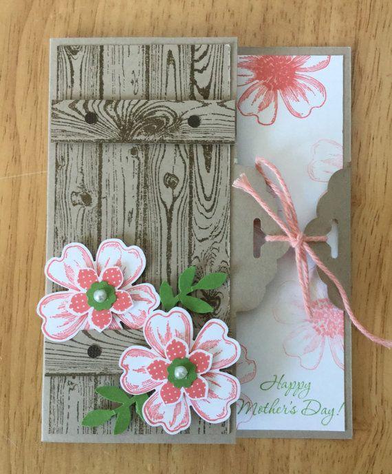 Aussie Mum Gardening From Scrap: Stampin Up Handmade Mother's Day Card