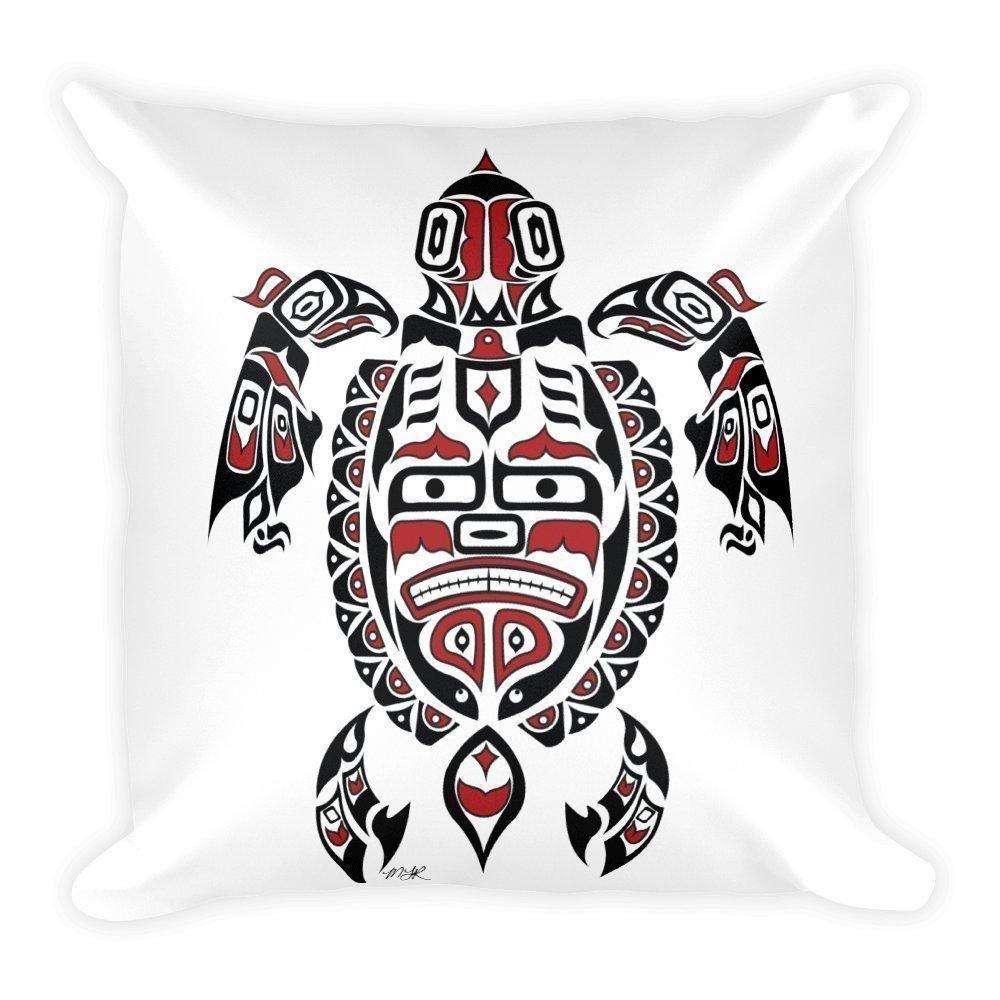 64659e417 Custom Pillow - Haida Turtle, Tlingit Turtle , Native American ...