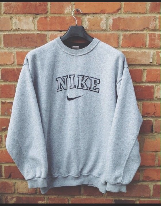 Pullover nike vintage suéter,Suéter de gran tamaño,sweat ...