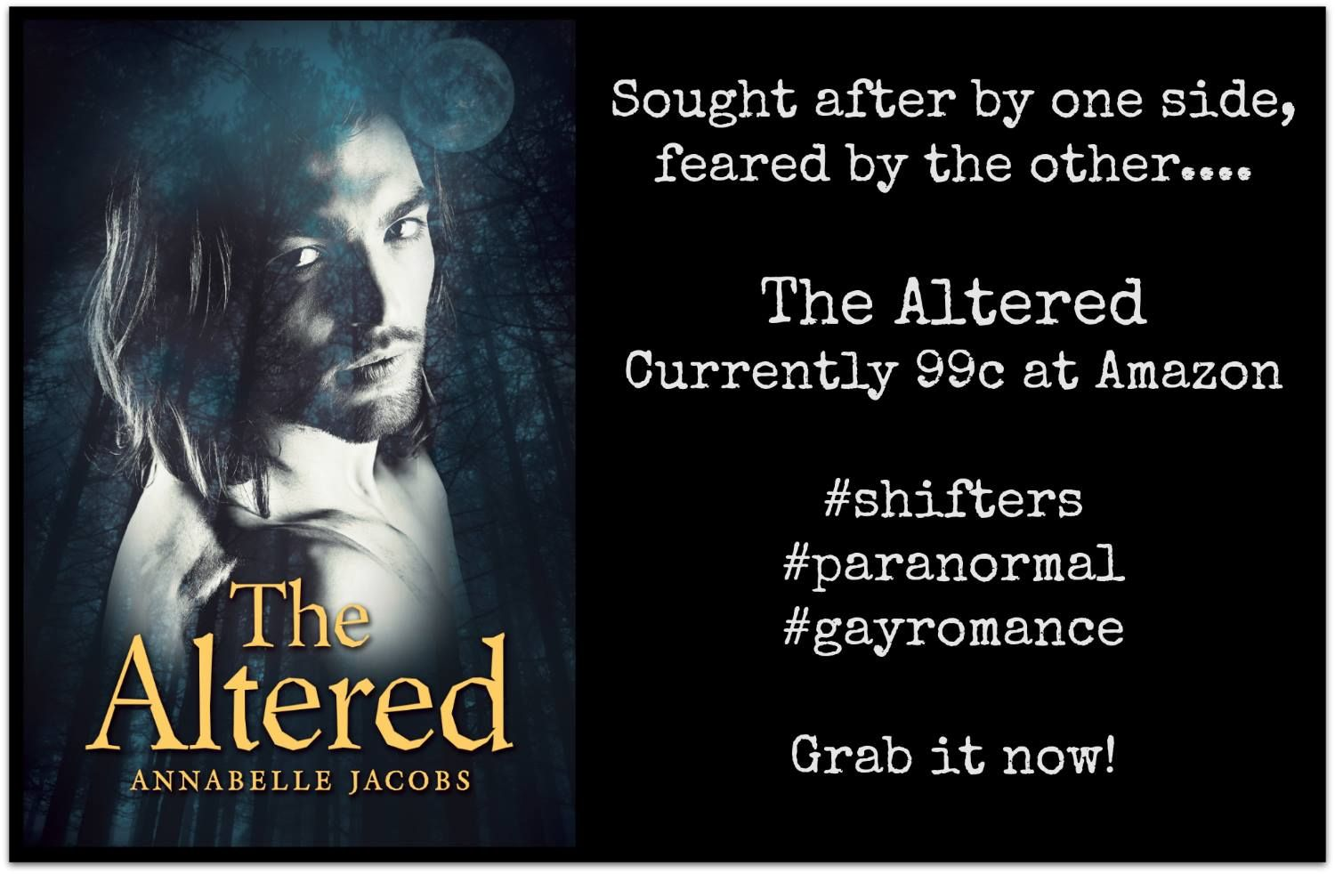 The Altered 2 is released today. Get book 1 for 99c :)