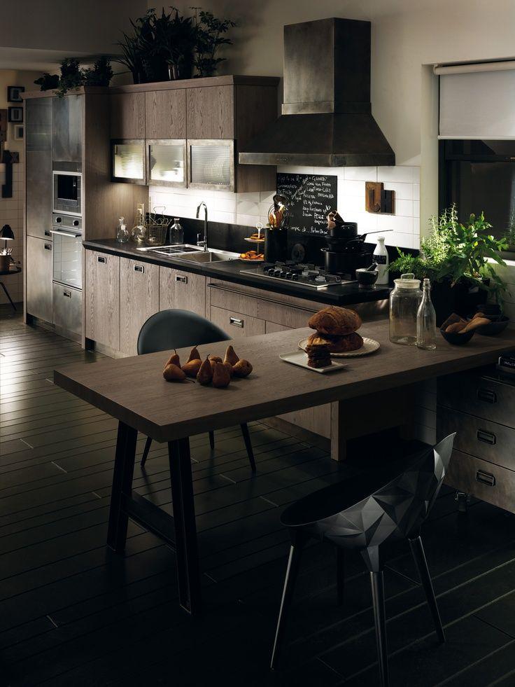 Diesel - Scavolini - Decoland | cocina negra | Pinterest | Küche und ...