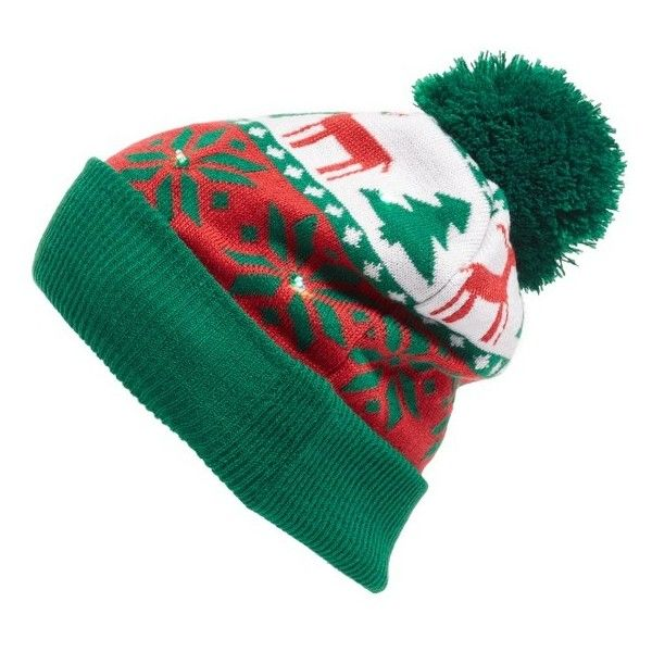 381c6cc6b Women's Collection Xiix Holiday Lights Beanie ($32) ❤ liked on ...