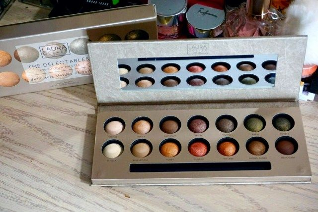 Laura Geller The Delectables Eyeshadow Palette Swatches Laura
