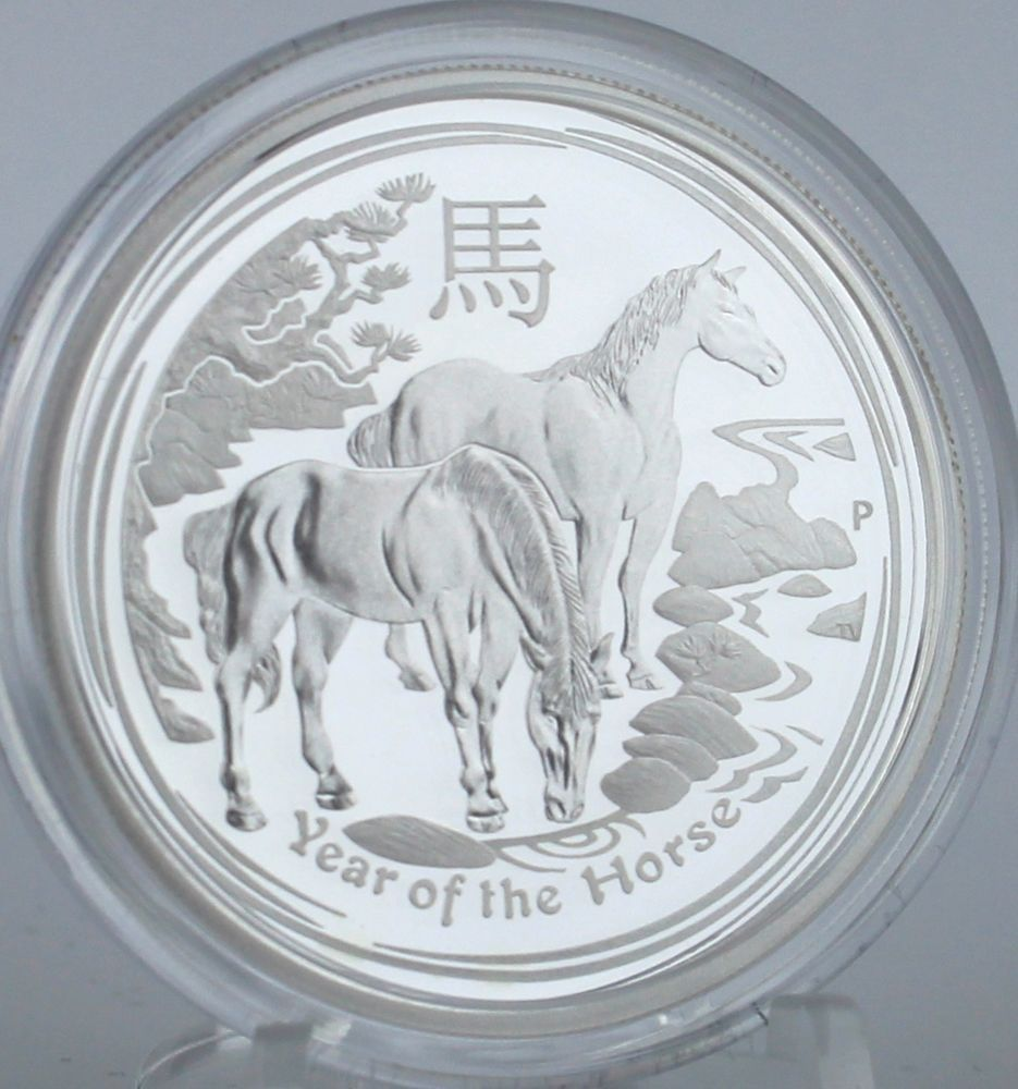 Details about 2014 YEAR OF THE HORSE AUSTRALIAN LUNAR
