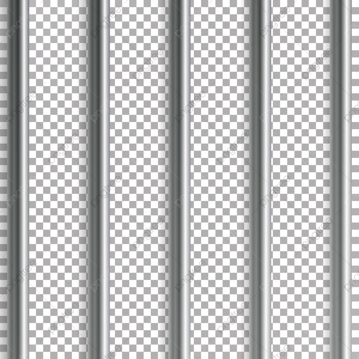 Jail Bars Vector Illustration Isolated On Transparent Background Iron Or Steel Prison House Grid Illustration Prison Clipart Bars Behind Png And Vector With Jail Bars Vector Illustration Geometric Pattern Background