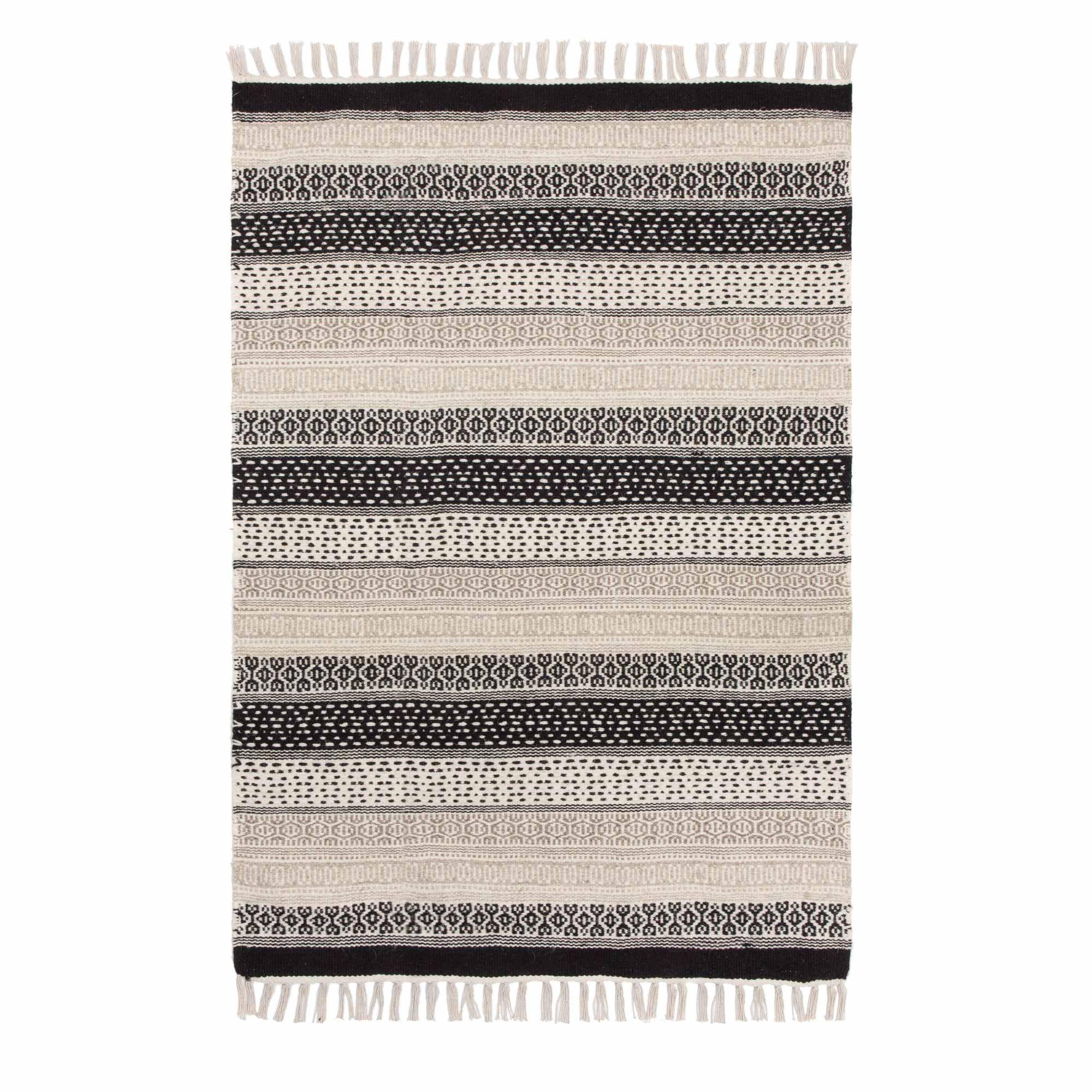 Teppich Peruva Rugs Cotton Runner Geometric Design