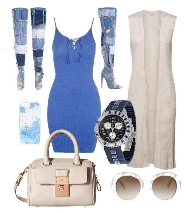 """""""Untitled #6"""" by jrigga on Polyvore featuring Topshop, Skinnydip, Gucci, Christian Dior and Ted Baker"""