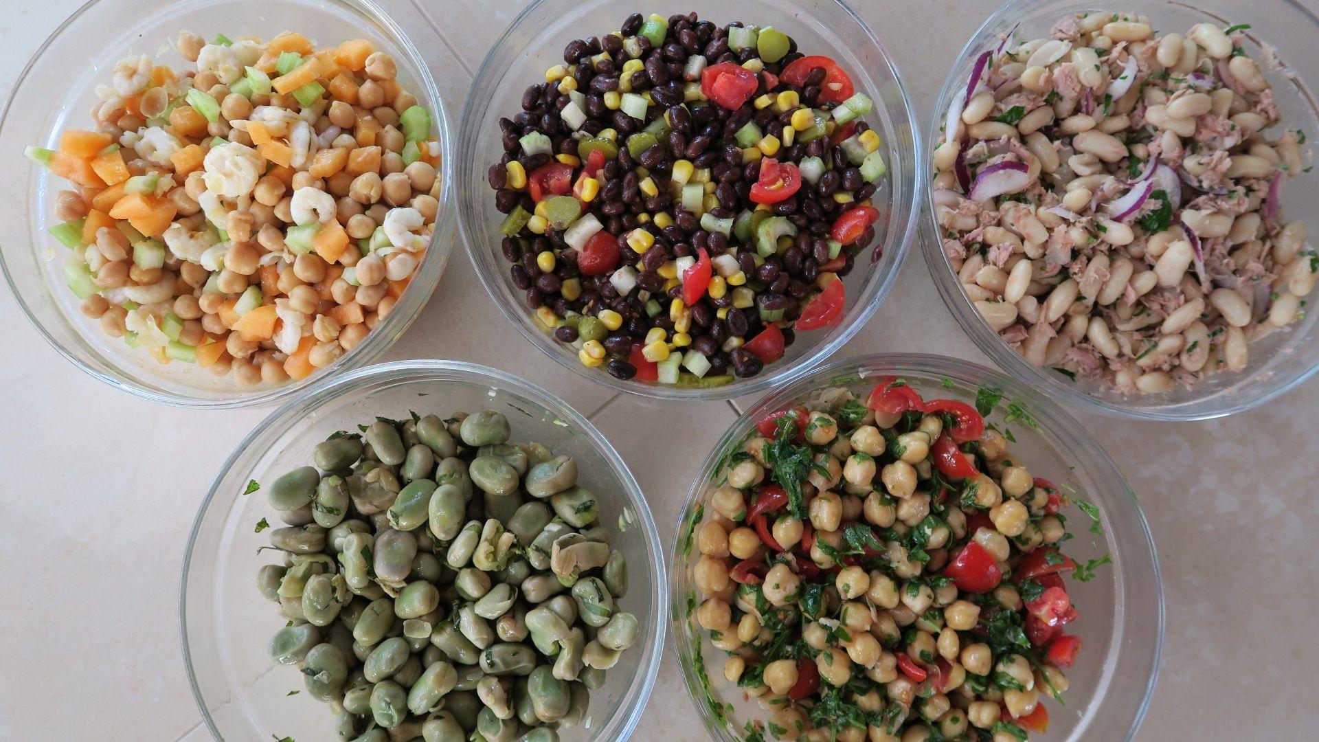 5 insalate di legumi, 5 idee per insalate estive fresche e ...