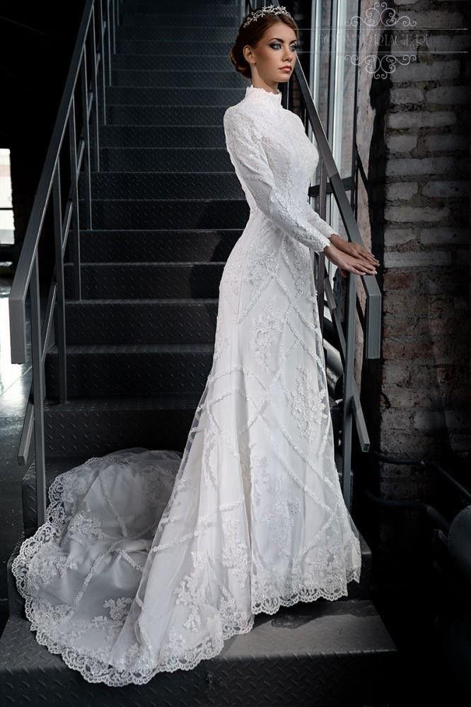 Item Type Wedding Dresses Waistline Natural Is Customized Yes Bran High Neck Long Sleeve Wedding Dress Wedding Dress Long Sleeve Modest Lace Wedding Dresses
