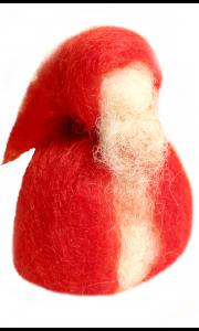 Weihnachts-Wichtelmann - roter Zwerg - Handarbeit - Kunst & LebensART - Jarheszeitentisch