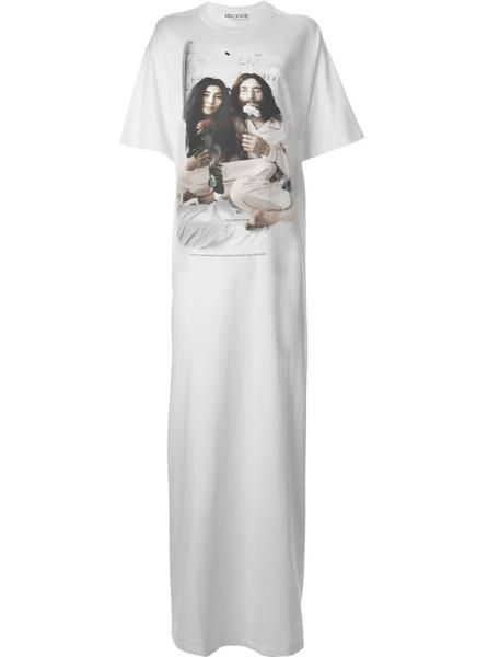 003e398a6376d Casual but immensely cool John & Yoko Bed Maxi T-Shirt Dress. Modern  Women's Hippie style. Total comfort wear. Also available to order in Midi  length and be