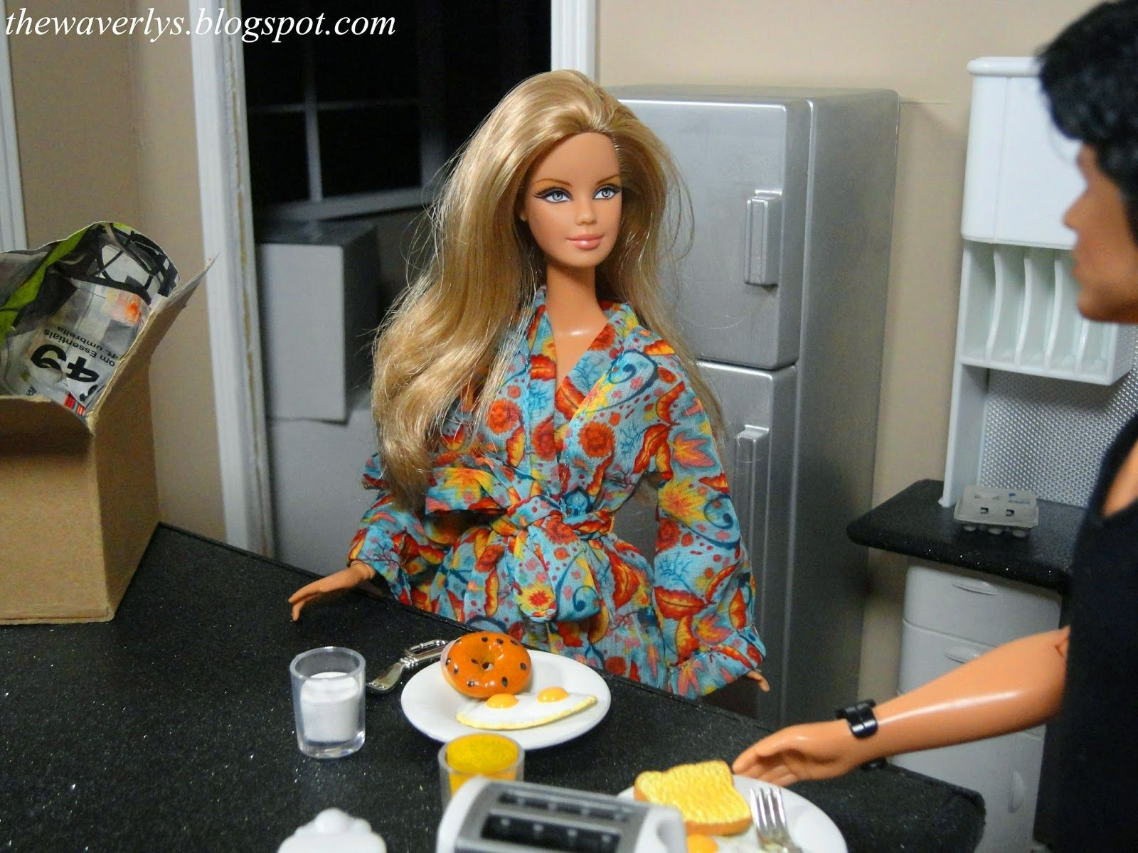 The Waverlys .. A Barbie Doll