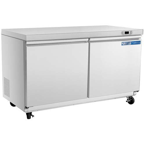 Commercial Cool CCUK12W 1.2 Cu Ft White Upright Freezer with Adjustable Thermostat Control and R600a Refrigerant