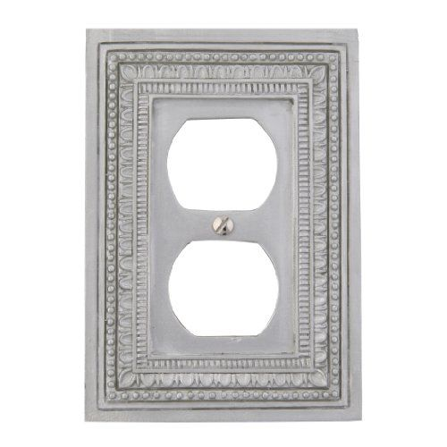 Allen And Roth Wall Plates Glamorous Amertac 8330Dft Filigree Border Resin Single Duplex Outlet Wallplate Review