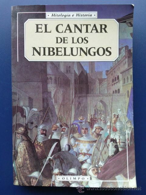 El Cantar De Los Nibelungos Anónimo Middle Ages Books Baseball Cards