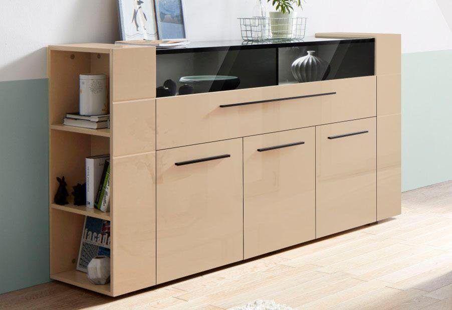 Kommode braun, Soft-Close-Funktion, FSC®-zertifiziert, yourhome - schrank für wohnzimmer