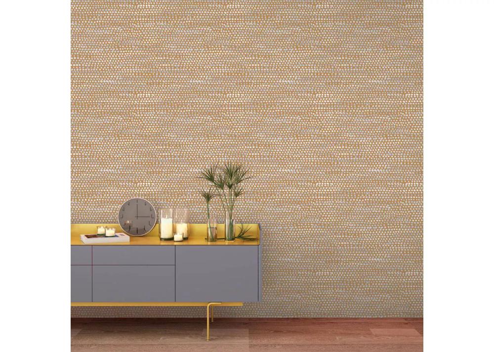 Tempaper Moire Dots SelfAdhesive Removable Wallpaper