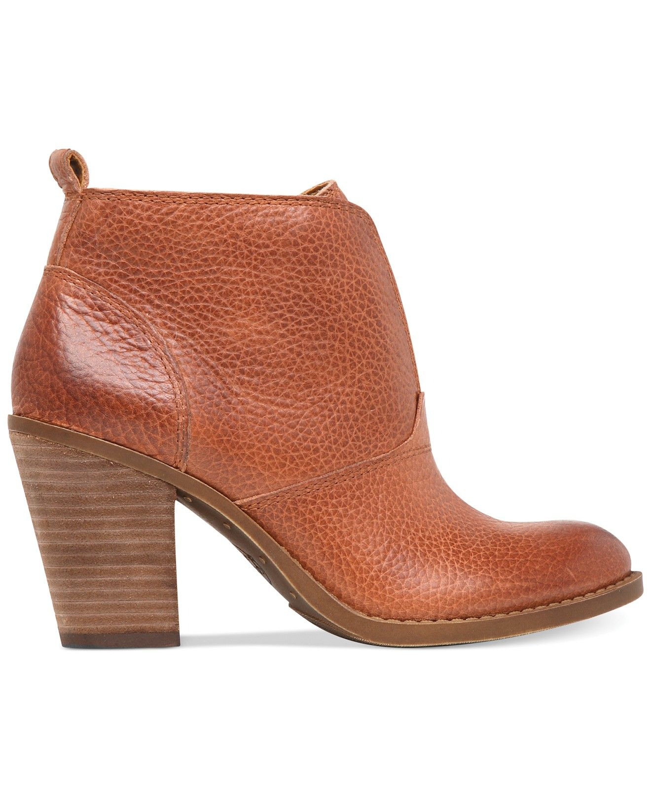 17d2dc725fb Lucky Brand Women's Ehllen Booties - Boots - Shoes - Macy's   My ...