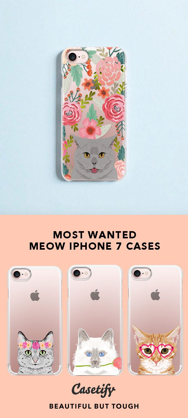 I Like Your Cattitude Most Wanted Meow Iphone 7 Cases For Kitten Lovers For More Cat Cases Sh Animal Iphone Case Iphone Case Protective Cute Phone Cases
