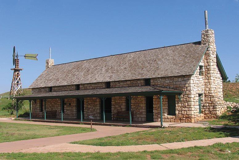 Las Escarbadas at the Ranching Heritage Museum, Texas Tech, Lubbock, TX.
