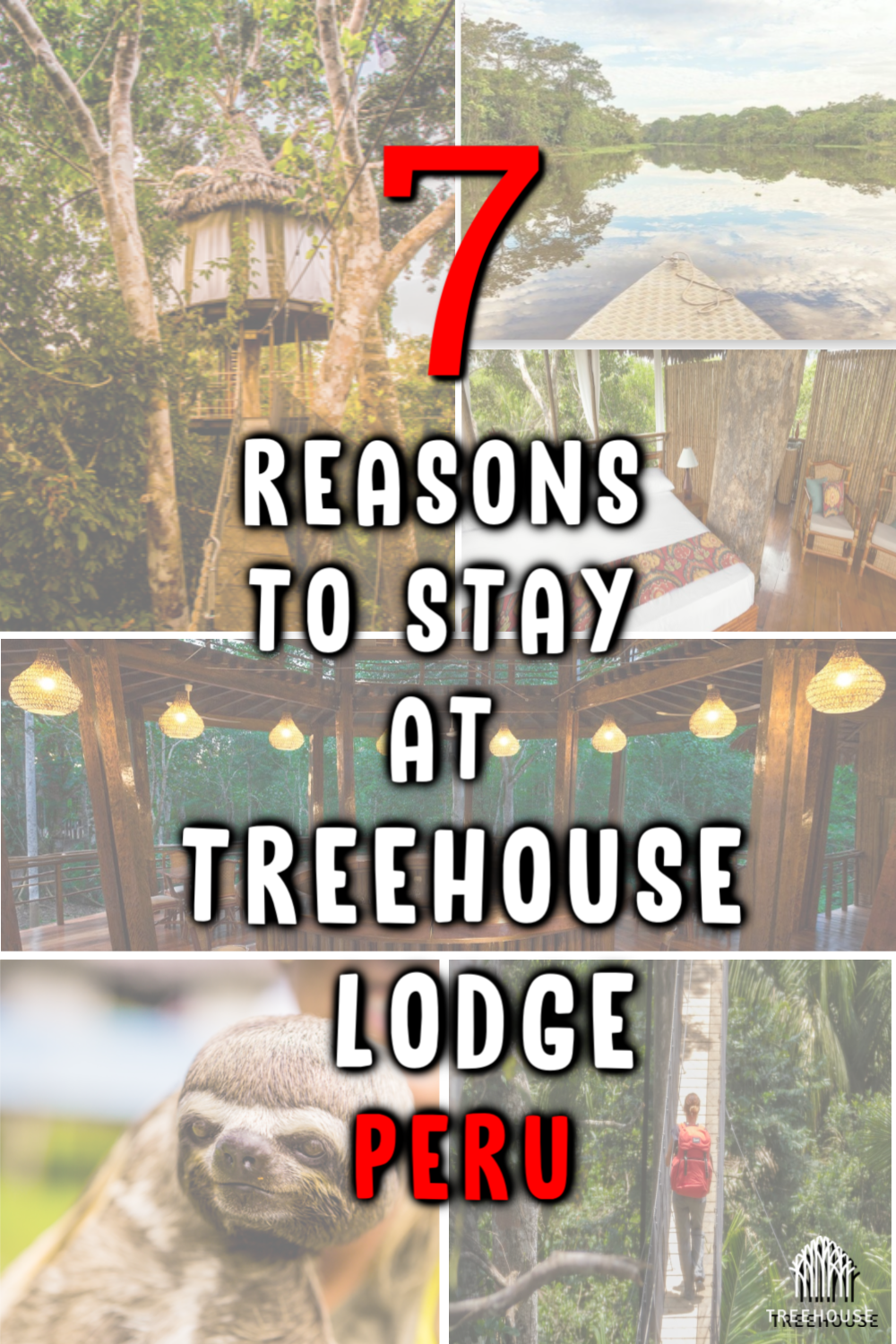 7 Reasons To Stay At Treehouse Lodge in Iquitos, Peru  #treehouse #treehouselodgeperu #treehouseresort #treehousestay #peru #amazonriver