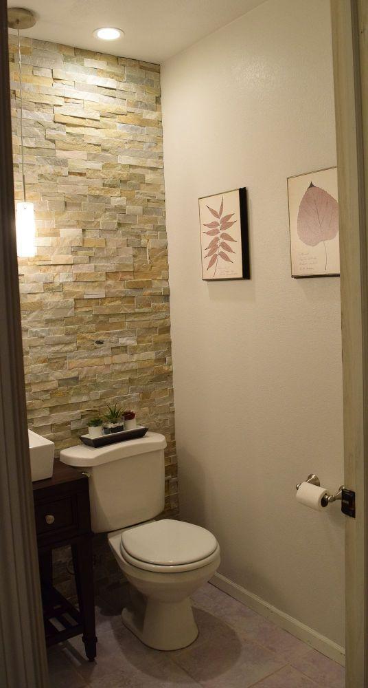 Half Bath Renovation Bathroom Makeover Half Bath