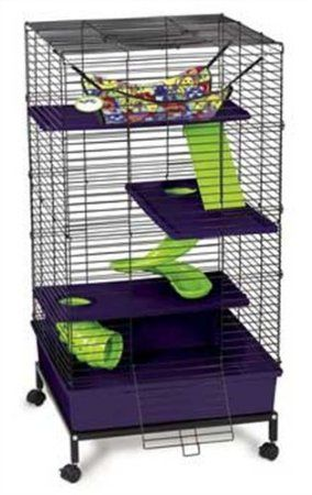 Rat Cage On Ebay 149 99 On Amazon 99 20 New Or 89 99 Used Totally On My Wish List Small Pets Pet Supplies Pet Home