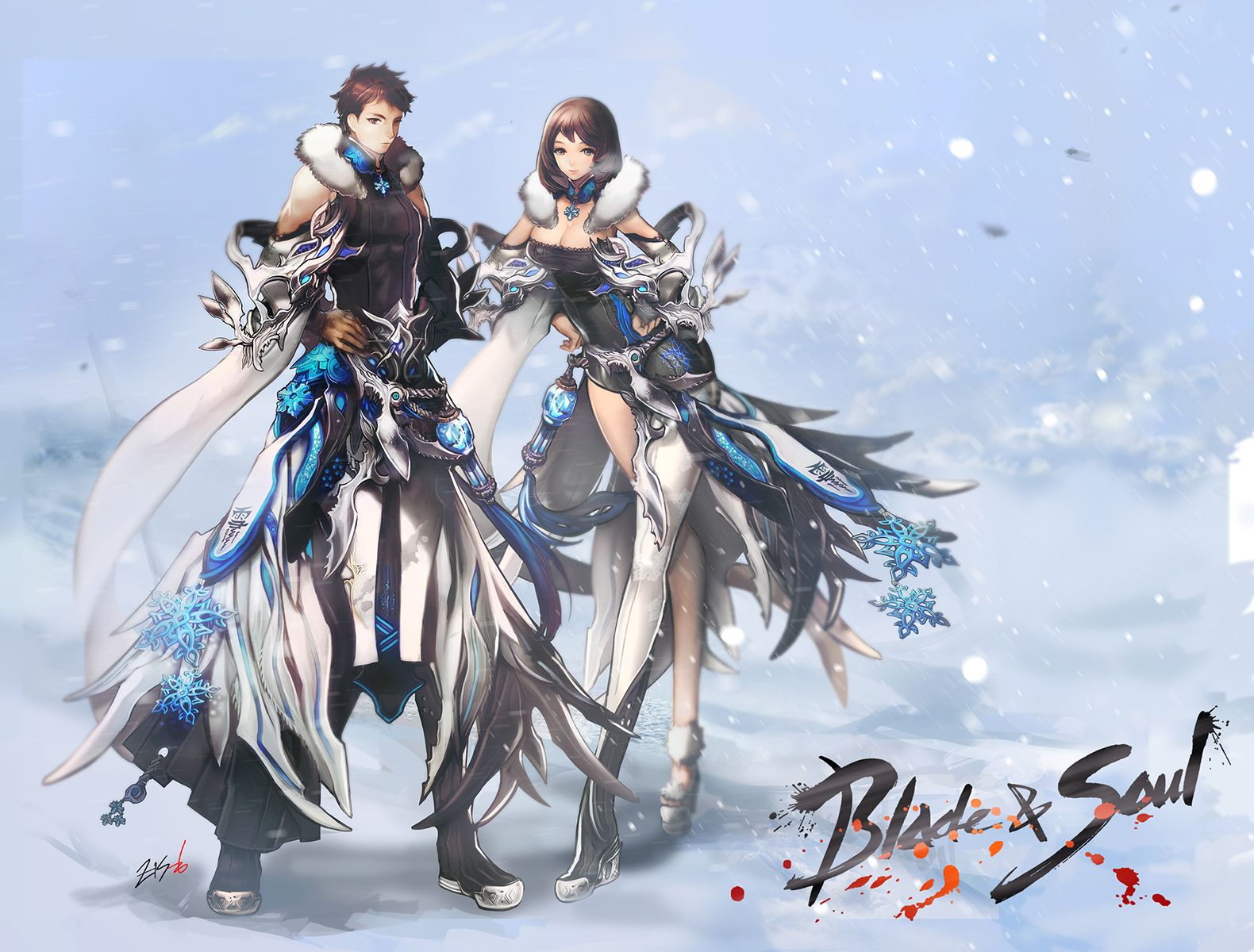Blade Soul Wallpaper 1580x1200 132370 Wallpaperup Blade And Soul Blade And Soul Anime Soul Wallpaper