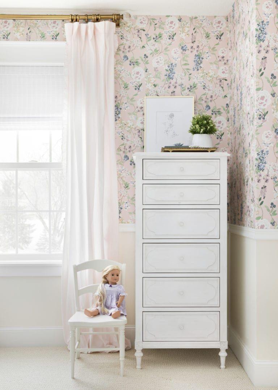 Brooklyn S Big Girl Room Reveal Bria Hammel Interiors Floral