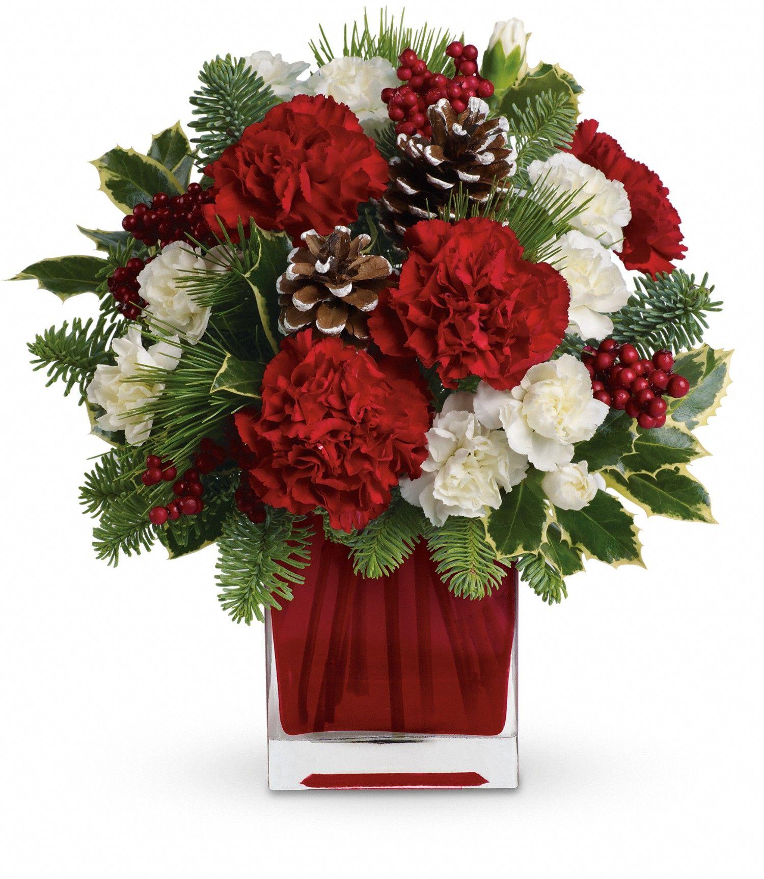 Mancusos.com #Flowers #Christmas #Holiday   Christmas Flowers ...