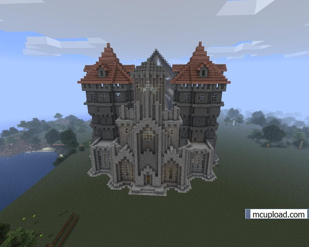 cool minecraft castles 3 | Minecraft Mostly Builds ...