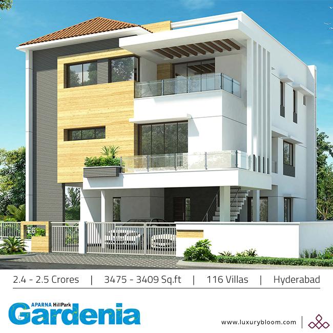 """Discover a majestic living at """"Aparna HillPark Gardenia"""