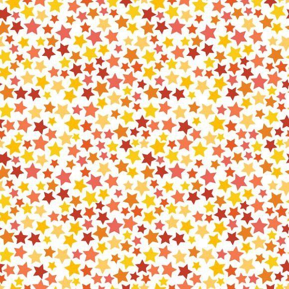 Red Yellow And Orange Stars Pattern Star Patterns Star
