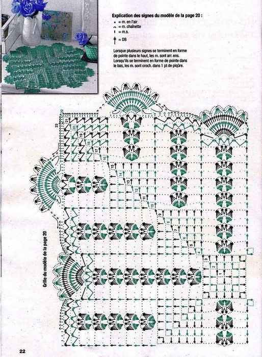 Kira scheme crochet: Scheme crochet no. 1926